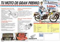 Tu moto de gran premio